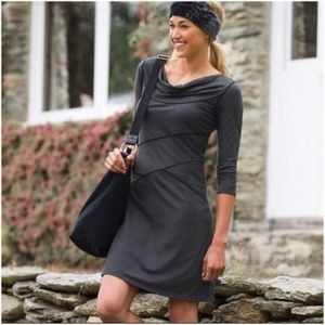 Athleta Gray Ukiah Dress Size M